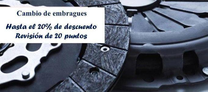 20% de descuento en el cambio del embrague de tu automóvil