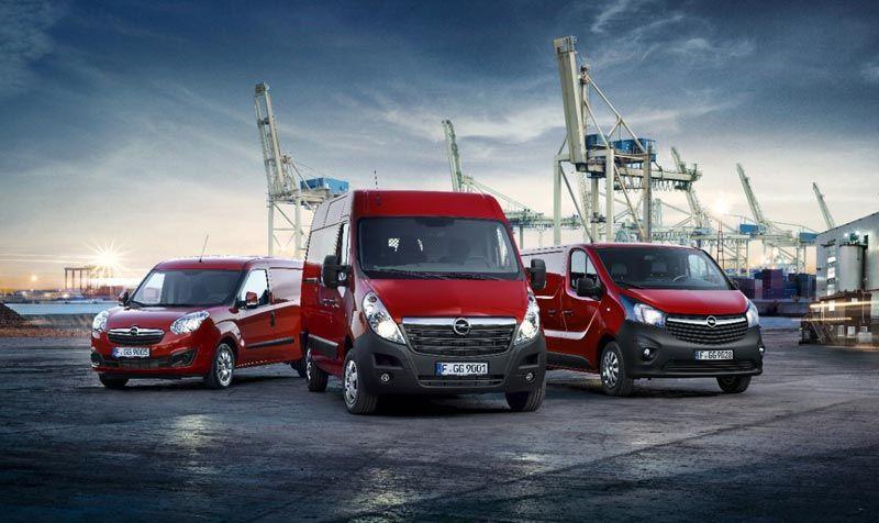 Gama de comerciales ligeros Opel 2016: más limpios, económicos y cómodos