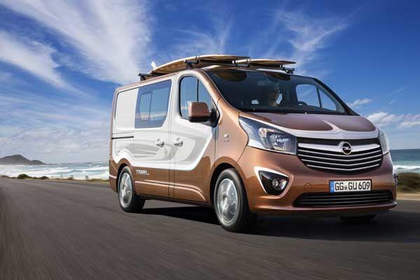 Concepto Opel Vivaro Surf: estilo para el tiempo libre