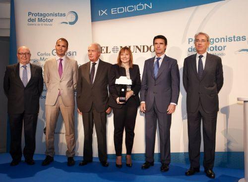 """Mary Barra premio """"Protagonista del Motor"""" por su liderazgo y contribución al desarrollo de la industria automovilística"""