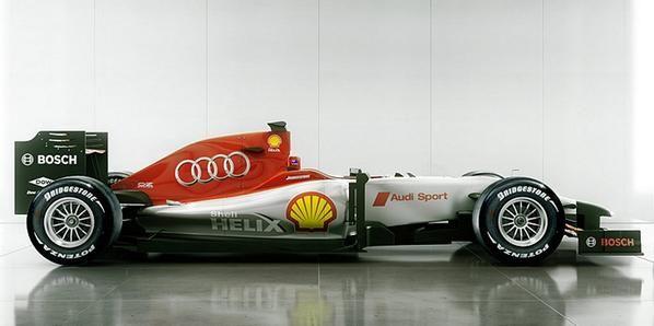 Audi entra en el circo de la F1