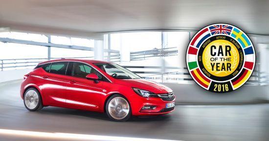 """El nuevo Opel Astra elegido """"Coche del Año en Europa 2016"""""""
