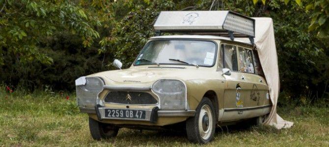 Recorriendo el mundo a bordo de un Citroën Ami 8 de 1969