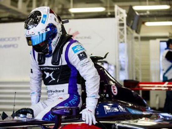 SAM BIRD MARCA PUNTOS PARA EL EQUIPO DS VIRGIN RACING EN EL MEXICO CITY EPRIX