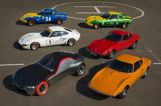 Opel presenta la leyenda del GT en Techno Classica