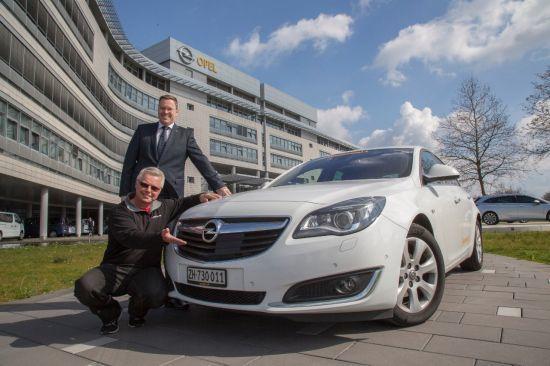 Nuevo récord: un Opel Insignia recorre 2.111 kilómetros sin repostar