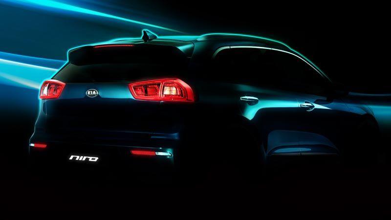 Kia revelas las primeras imágenes del nuevo Niro Hybrid Utility Vehicle