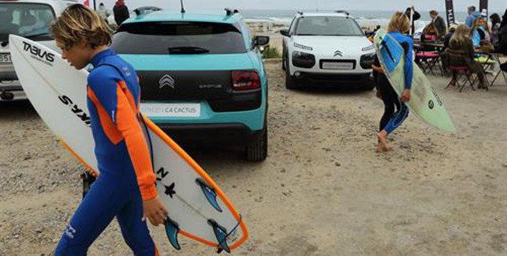 CITROËN, CON LOS JÓVENES TALENTOS DEL SURF