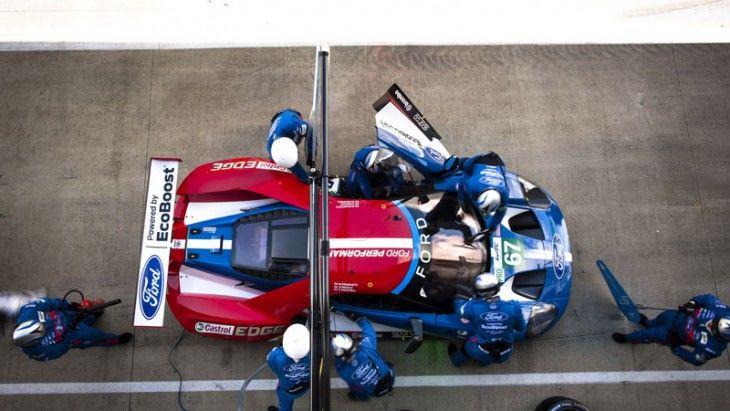 Buen debut del Nuevo Ford GT en el Campeonato del Mundo de Resistencia