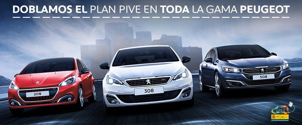En Peugeot doblamos el Plan PIVE