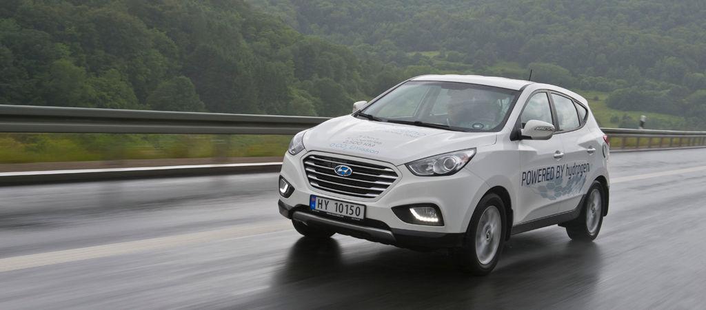 Hyundai Motor organiza una ruta desde Bergen a Bolzano con el ix35 Fuel Cell