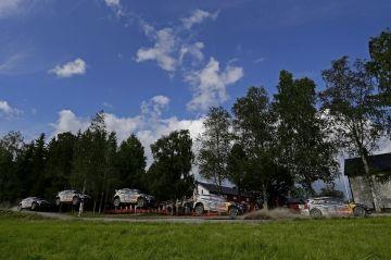 LOS PILOTOS DE VOLKSWAGEN EN FORMA PARA EL RALLYE DE FINLANDIA