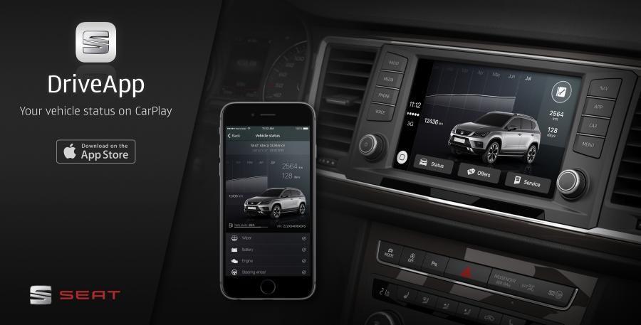 SEAT, la primera marca de automóviles con una app CarPlay para iPhone en la App Store