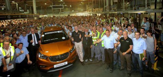 Opel inicia la producción en serie del nuevo MOKKA X