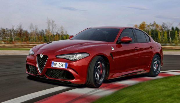Nuevo Alfa Romeo Giulia Quadrifoglio con transmisión automática de 8 velocidades