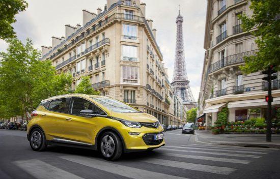 Opel Ampera-e con más de 500 kilómetros de autonomía