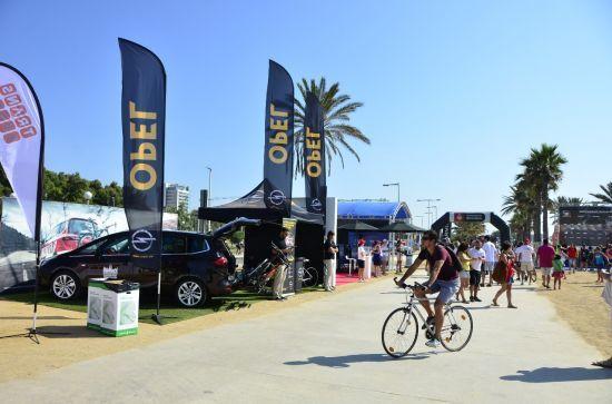 Opel Flexfix protagonista en el Barcelona Triathlon