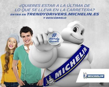 CREAR TENDENCIA EN LA CARRETERA TIENE PREMIO CON MICHELIN