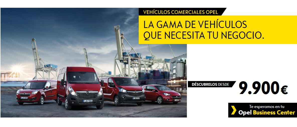 Vehículos comerciales Opel - Borjamotor