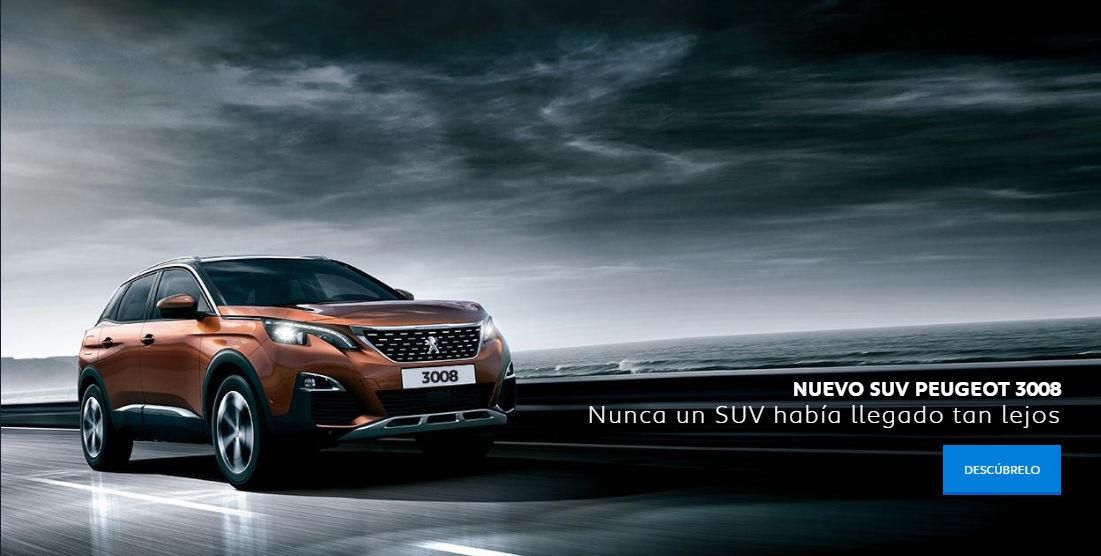 NUEVO SUV PEUGEOT 3008 EN TU TALLER.