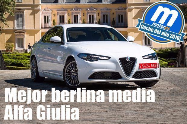 Alfa Romeo Giulia y Fiat Tipo triunfan en los premios Mejor Coche del Año 2016 del portal especializado Motor.es