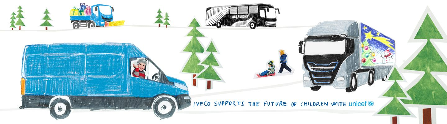 IVECO  SUPPORTS THE FUTURE OF CHILDREN WITH UNICEF