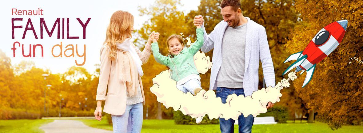 Ven y disfruta de un día en familia