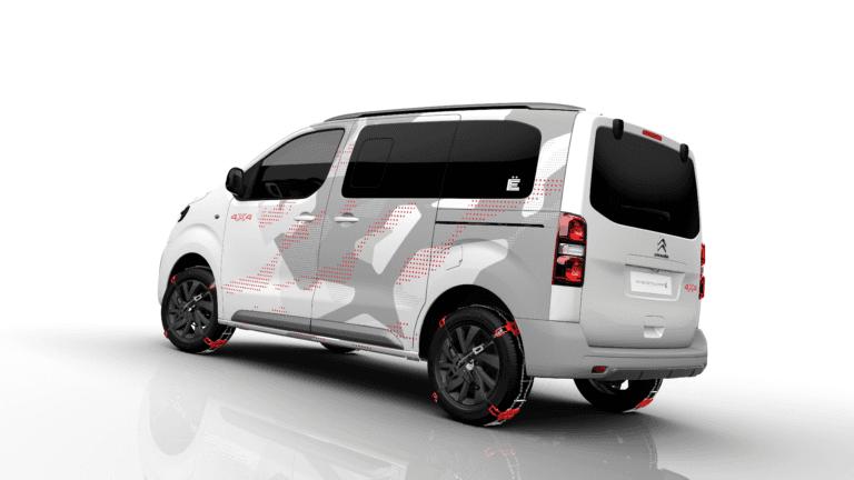 Así es Citroën SPACETOURER 4X4 Ë CONCEPT: para vivir la aventura con estilo