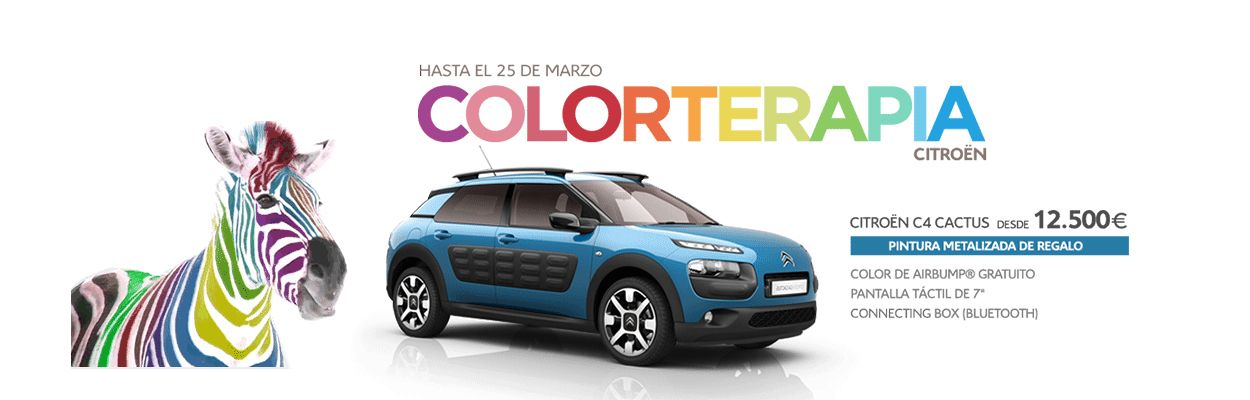 CITROEN COLORTERAPIA