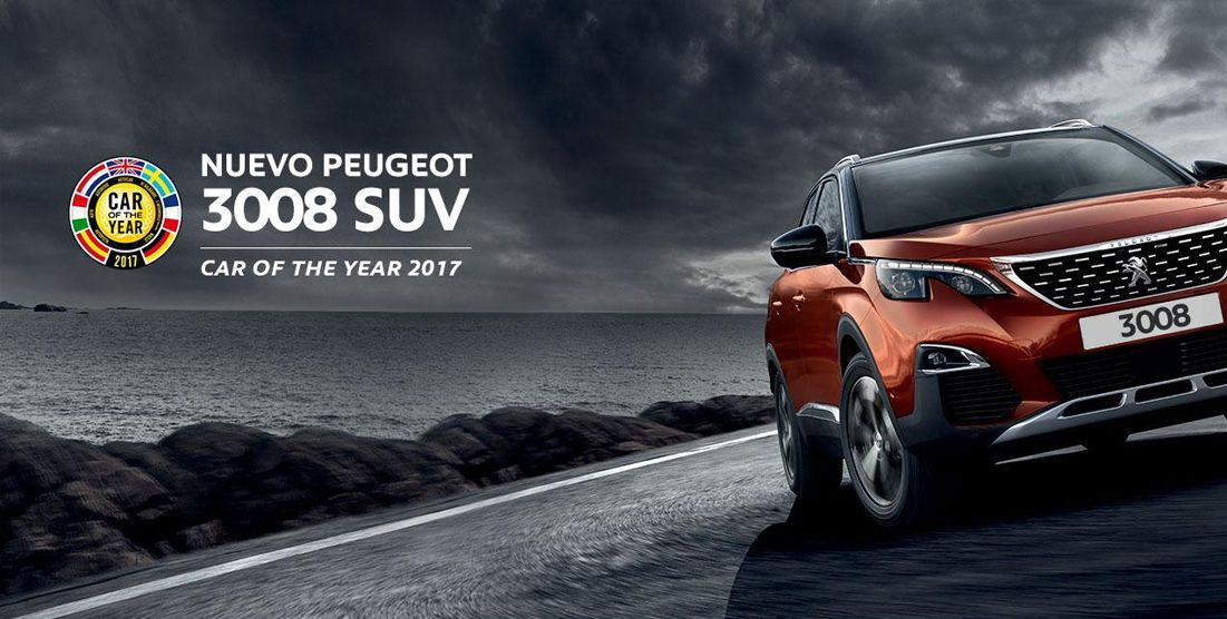 NUEVO SUV PEUGEOT 3008.