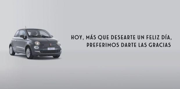 El Fiat 500 da las gracias a todas las mujeres