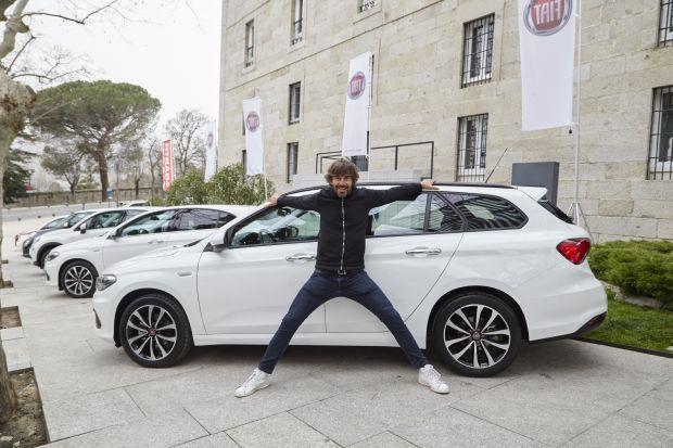 El actor Santi Millán, nuevo embajador de Fiat