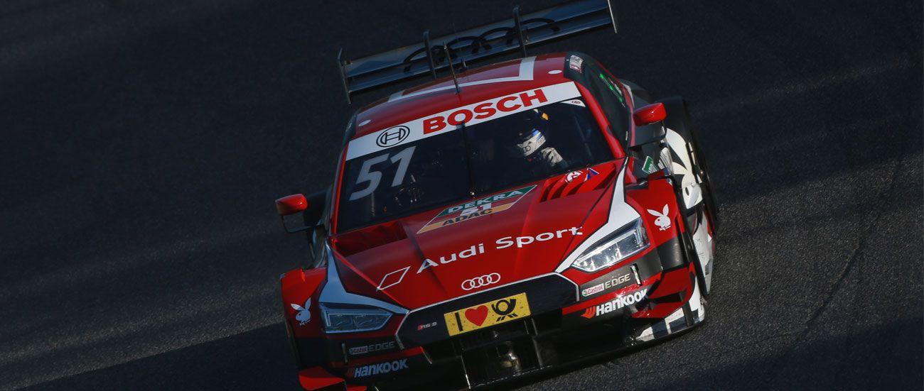 Debut en pista para el nuevo Audi RS 5 DTM