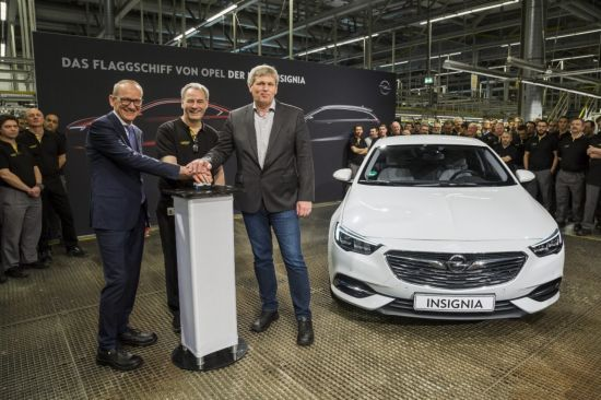 Inicio de producción del nuevo Opel Insignia