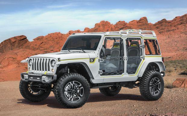 Jeep® y Mopar presentan nuevos prototipos para la 51ª edición anual del Easter Jeep Safari de Moab