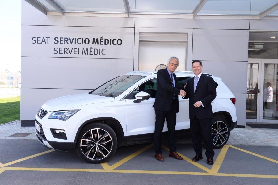 El Dr. Bonaventura Clotet, nuevo embajador de marca de SEAT