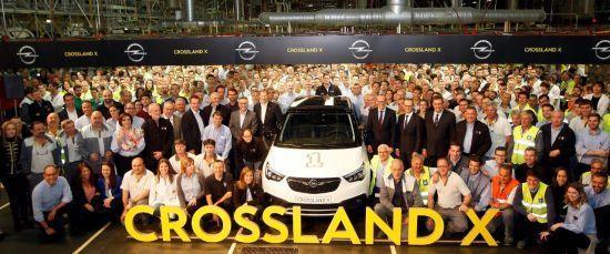 Opel inicia la producción del Crossland X en Zaragoza