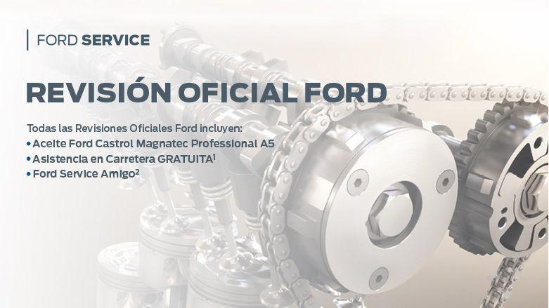 Revisión Oficial Ford