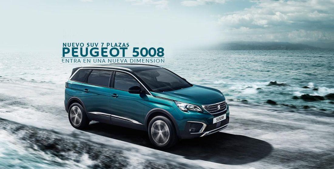 PEUGEOT 5008.