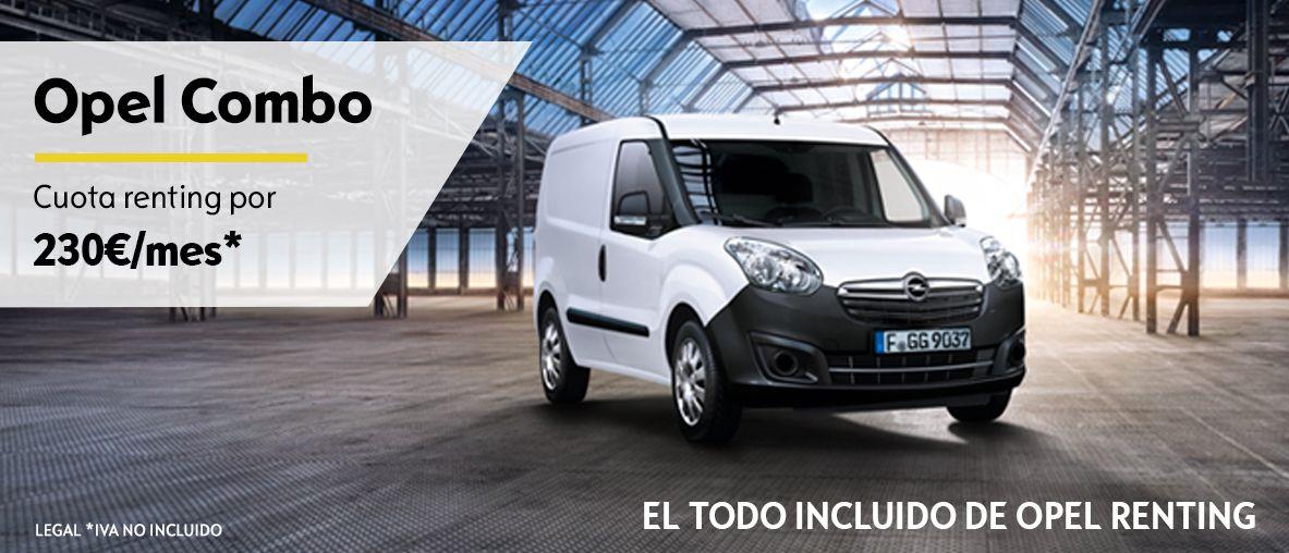 Gama Opel de vehículos comerciales