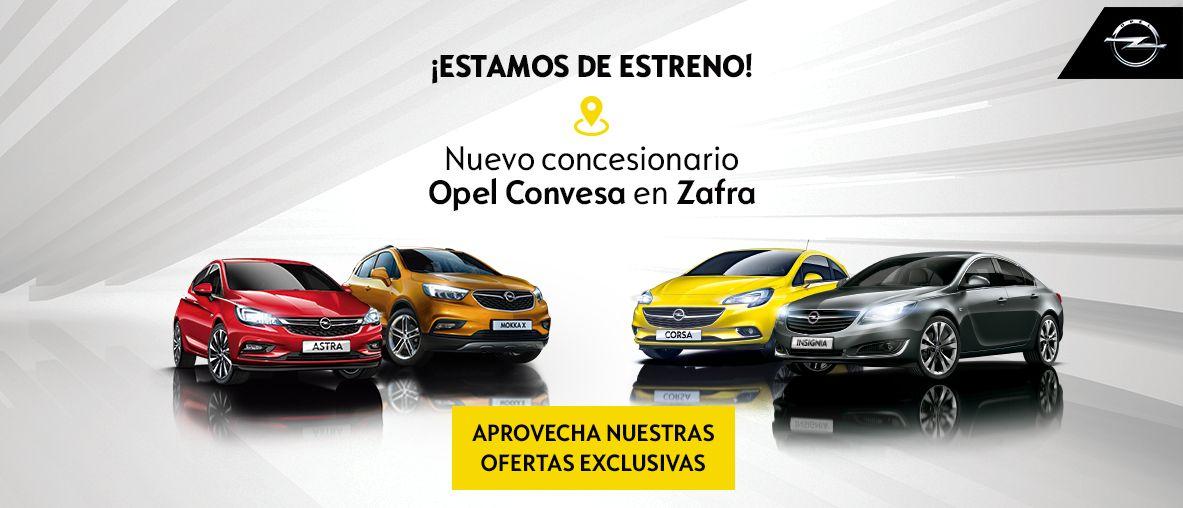 Ofertas en nuevo concesionario Opel Convesa en Zafra