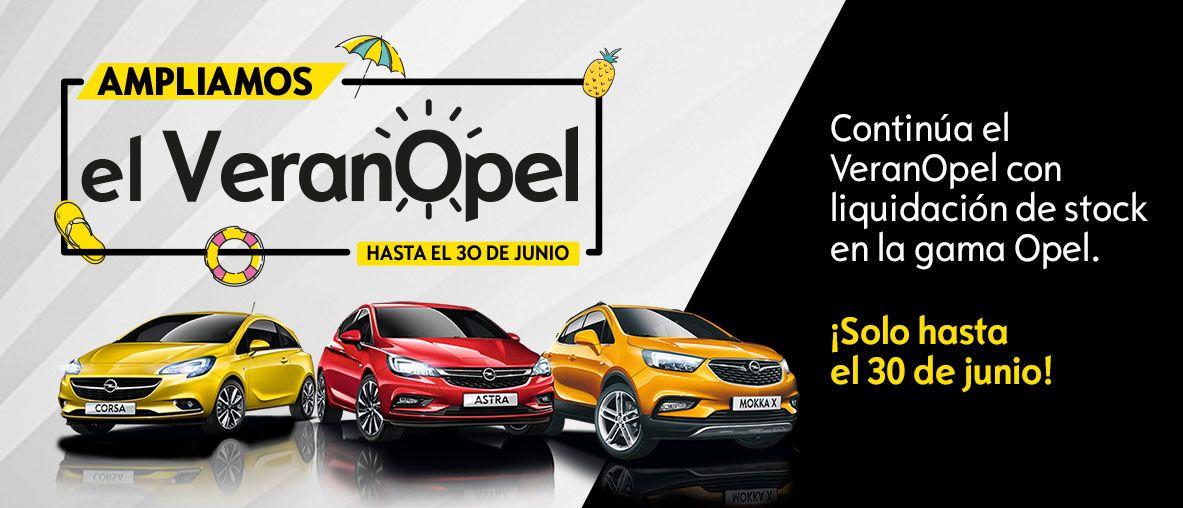 Llega el Veranopel. Hasta 5.000€ de ahorro en toda la gama Opel