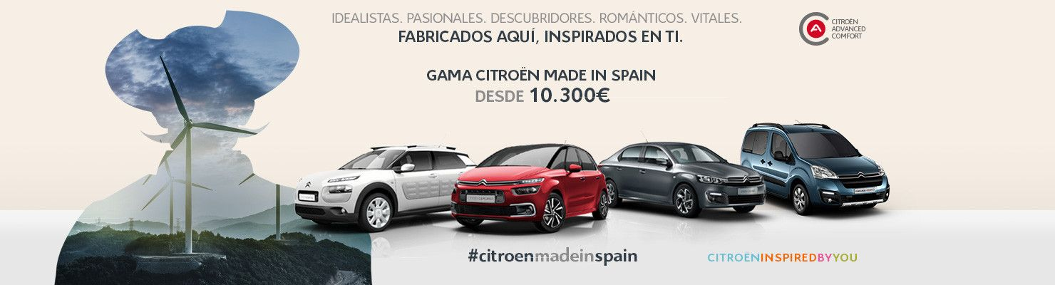 GAMA CITROEN MADE IN SPAIN.