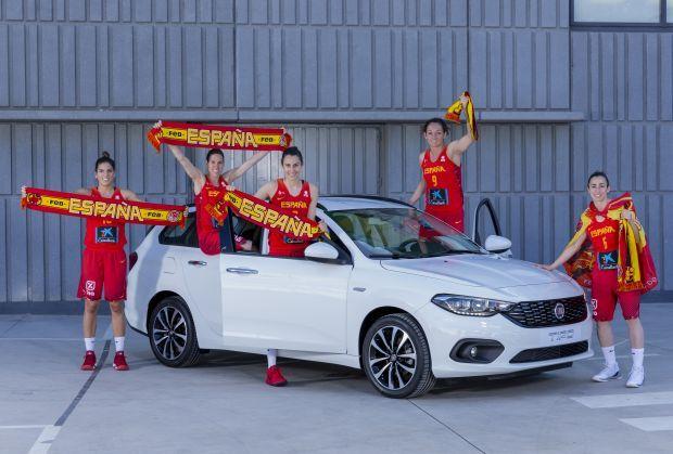Fiat felicita a las Campeonas de Europa de Baloncesto