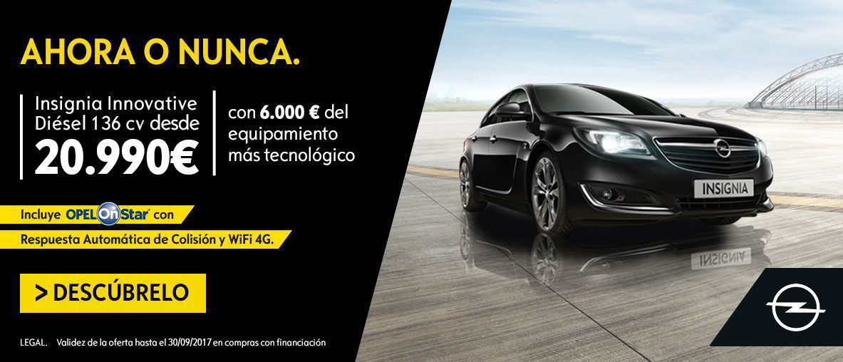 RUN OUT INSIGNIA POR 20.990€