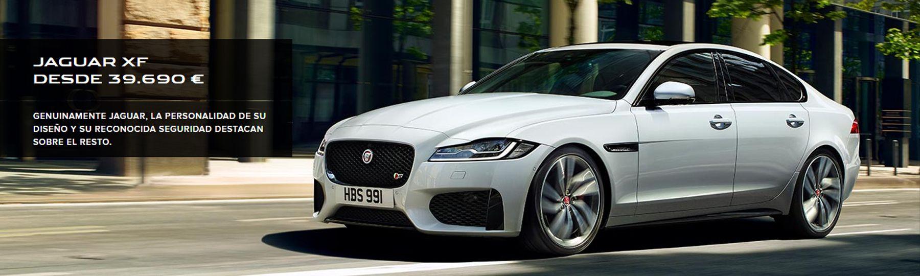 Jaguar XF desde 39.690€