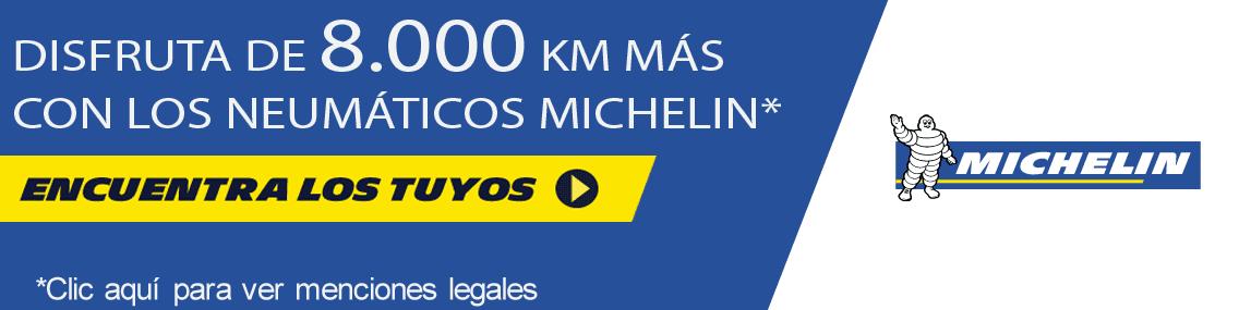 DISFRUTA 8.000 KMS CON MICHELÍN