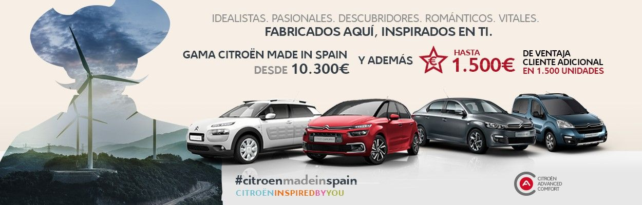 GAMA CITROEN MADE IN SPAIN