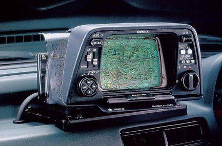 El Honda Electro Gyrocator, el tatarabuelo de los GPS