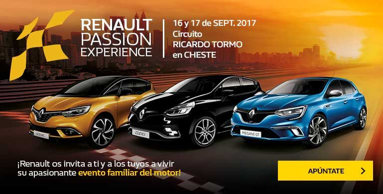 RENAULT PASSION EXPERIENCE